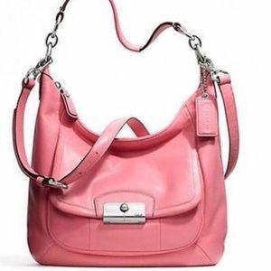 COACH Kristin rose pink purse!